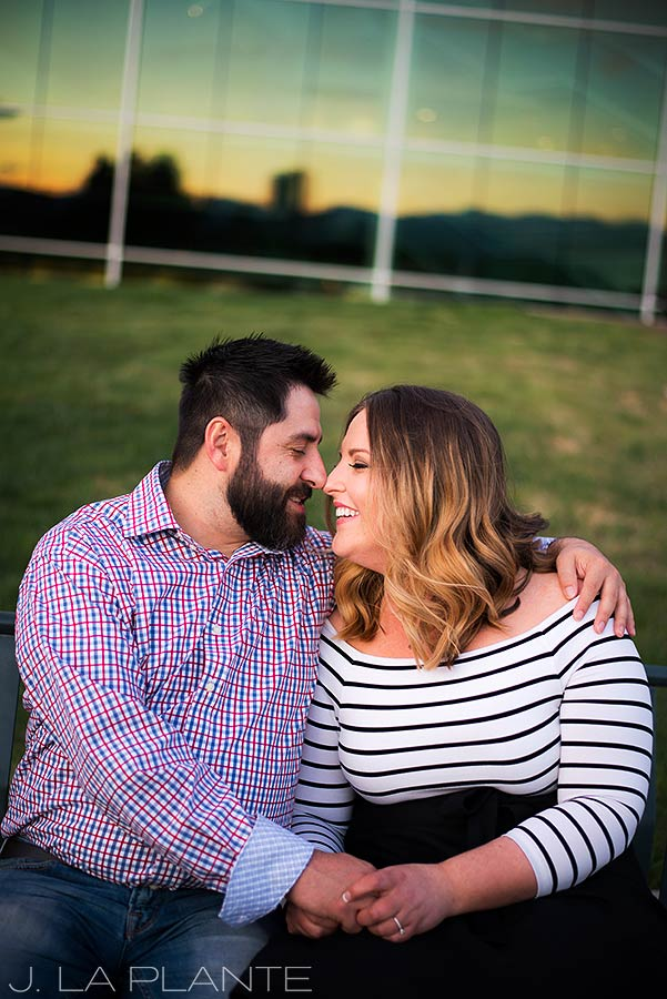 J. La Plante Photo | Denver Wedding Photographer | Denver City Park Engagement | Bride And Groom To Be