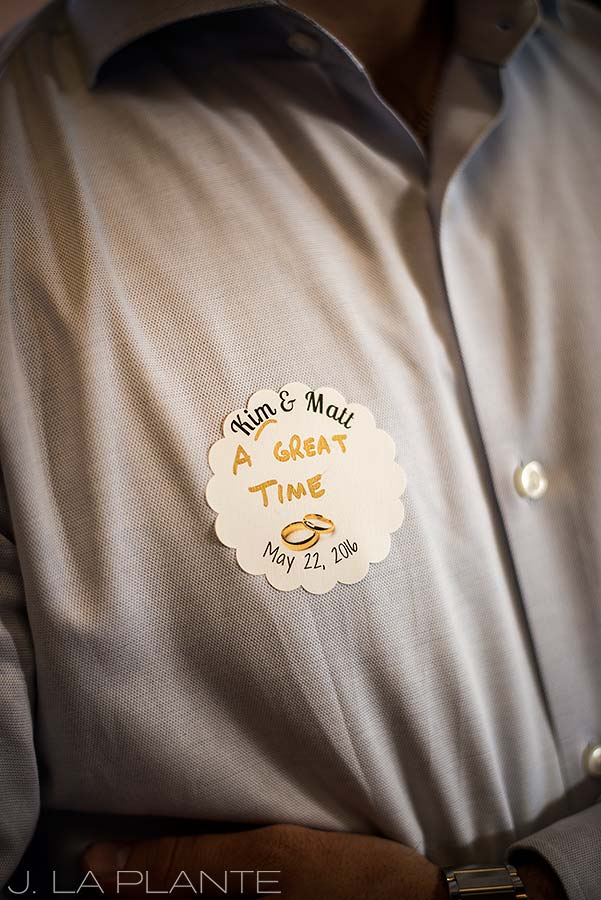 J. La Plante Photo | Boulder Wedding Photographers | Dushanbe Tea House Engagement | Wedding Guest Name Tags