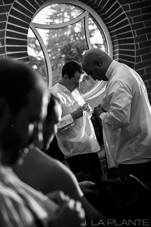 J. La Plante Photo | Denver Wedding Photographer | University of Denver Wedding | Fritz Knoebel Wedding | Groom Getting Ready