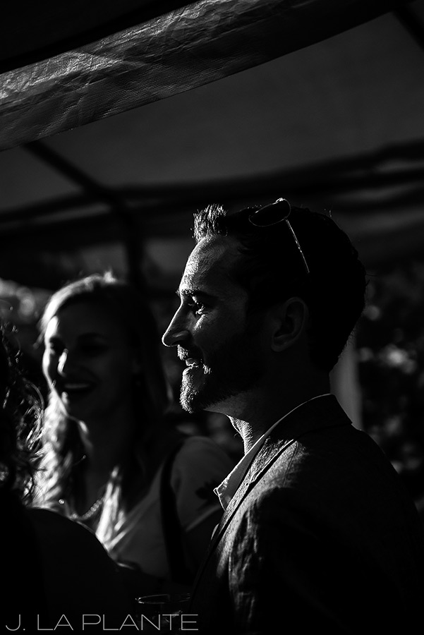 J. La Plante Photo | Boulder Wedding Photographers | Dushanbe Tea House Engagement | Groom To Be Silhouette