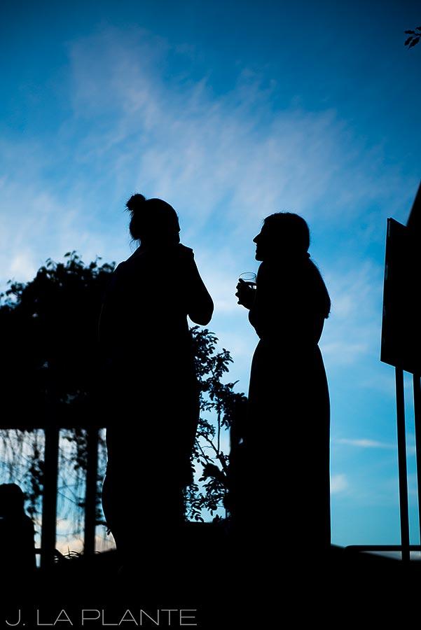 J. La Plante Photo | Boulder Wedding Photographers | Dushanbe Tea House Engagement | Bride To Be Silhouette