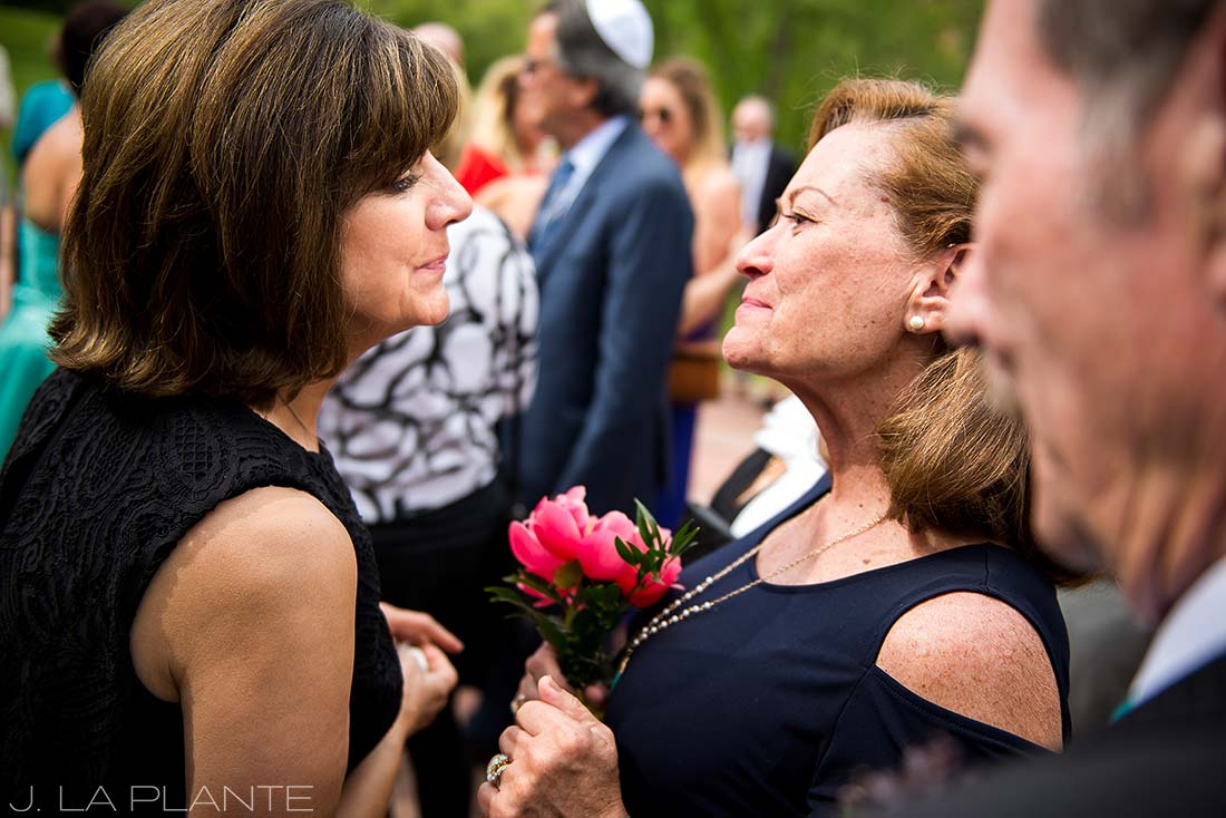 J. La Plante Photo | Boulder Wedding Photographer | Planet Bluegrass Wedding | Bride's and Groom's mothers