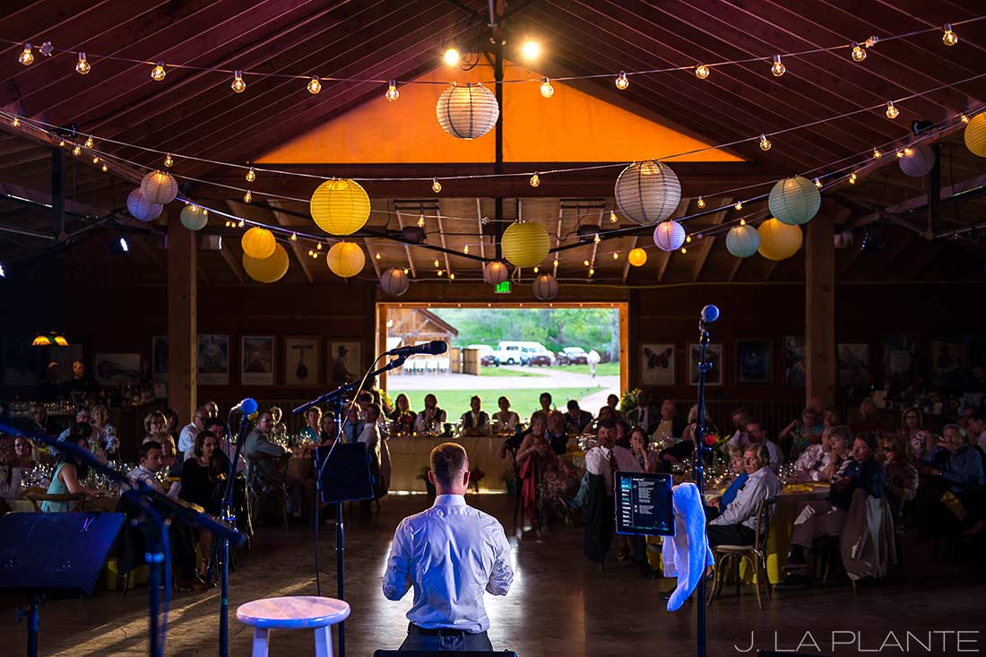 J. LaPlante Photo | Boulder Wedding Photographer | Planet Bluegrass Wedding | Wedding toasts