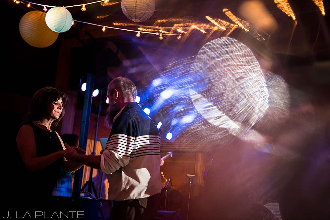 J. La Plante Photo | Boulder Wedding Photographer | Planet Bluegrass Wedding | Guests dancing