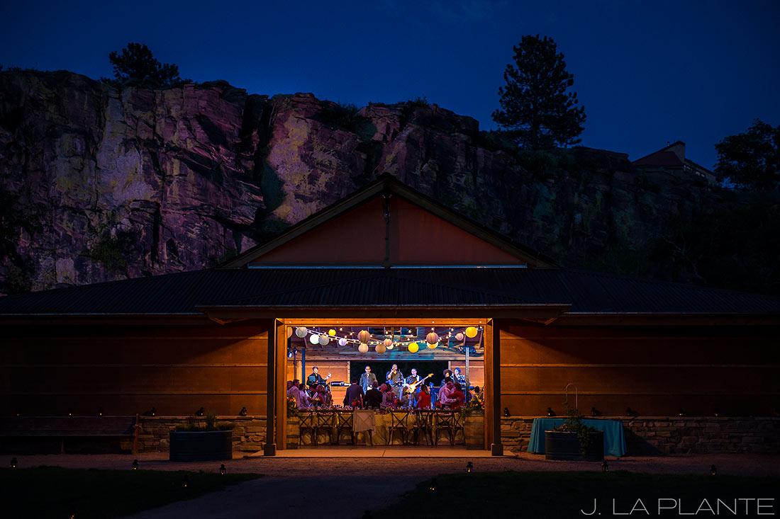 J. La Plante Photo | Boulder Wedding Photographer | Planet Bluegrass Wedding | Reception barn at Planet Bluegrass