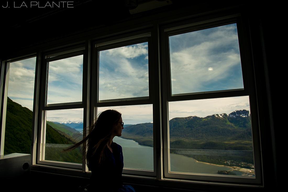 gondola view in juneau