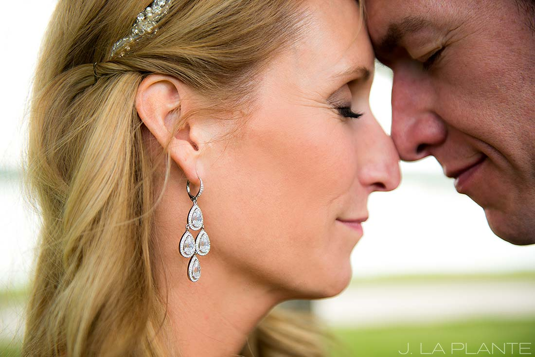 J. La Plante Photo | Denver Wedding Photographer | Sloan's Lake Park Wedding | Brides Earrings