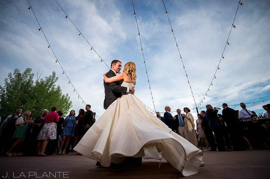 J. La Plante Photo | Denver Wedding Photographer | Chatfield Botanic Gardens Wedding | Bride and Groom First Dance