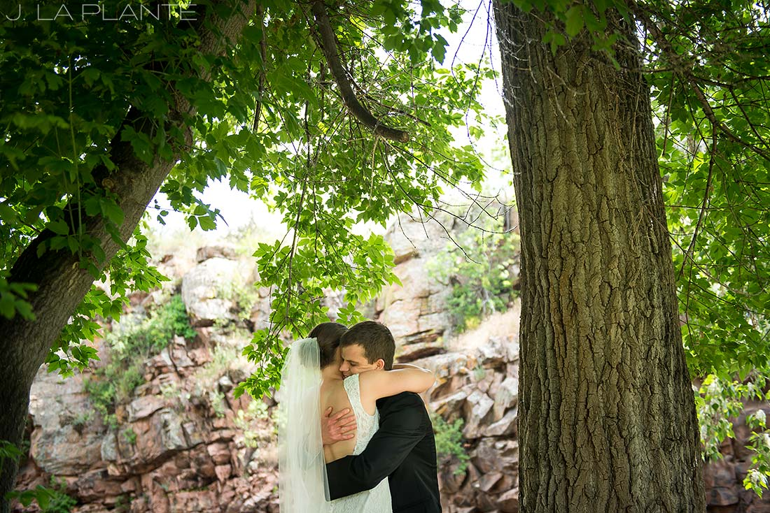 J. LaPlante Photo | Boulder Wedding Photographers | River Bend Wedding | First Look