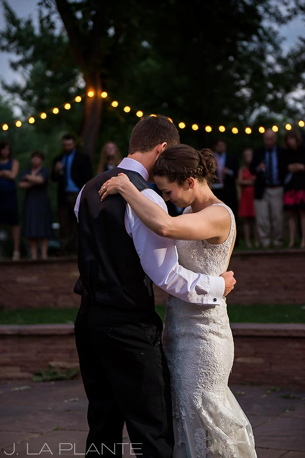J. LaPlante Photo | Colorado Wedding Photographers | River Bend Wedding | First Dance