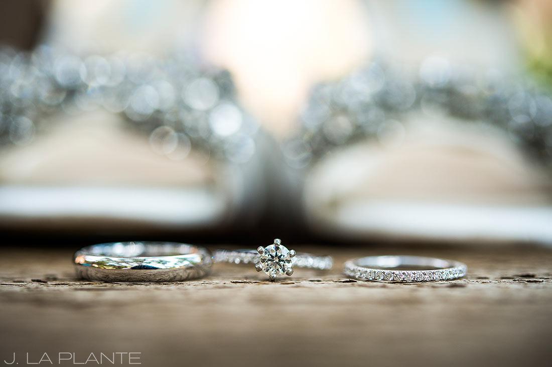 J. La Plante Photo | Boulder Wedding Photographers | Millennium Hotel Wedding | Wedding Ring Detail Photo