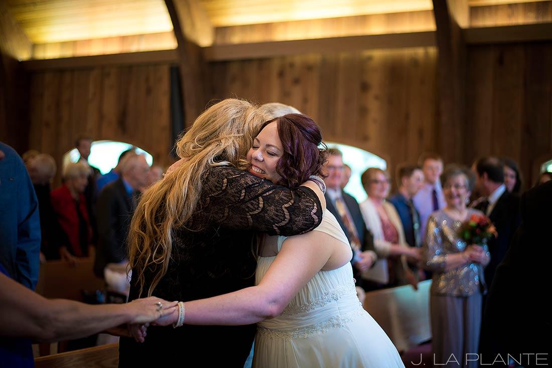 J. La Plante Photo   Vail Wedding Photographers   Vail Interfaith Chapel Wedding   Sign of Peace Wedding