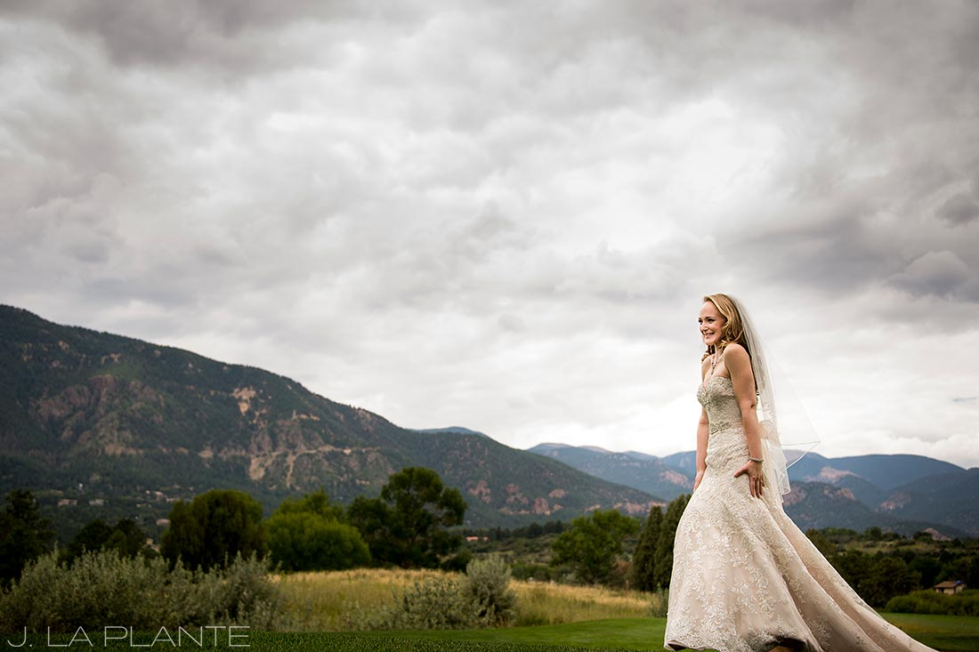 J. LaPlante Photo | Colorado Springs Wedding Photographers | Cheyenne Mountain Resort Wedding | Bride and Groom First Look