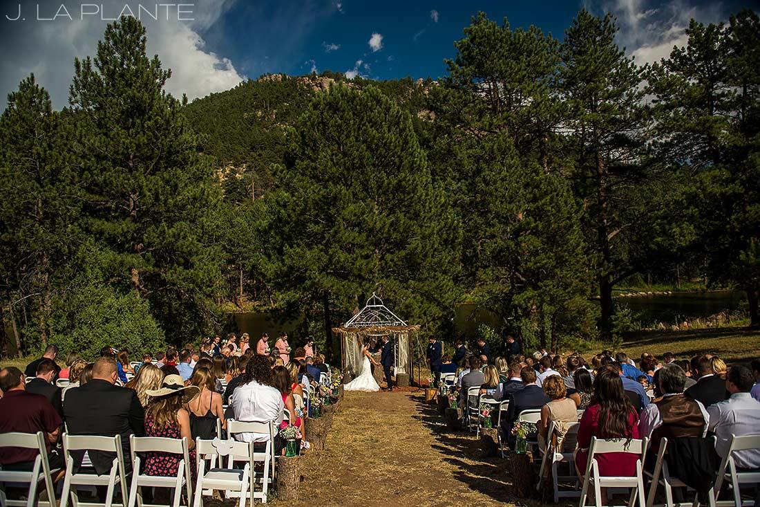 J. LaPlante Photo | Boulder Wedding Photographer | Mon Cheri Wedding | Mountain Wedding Ceremony
