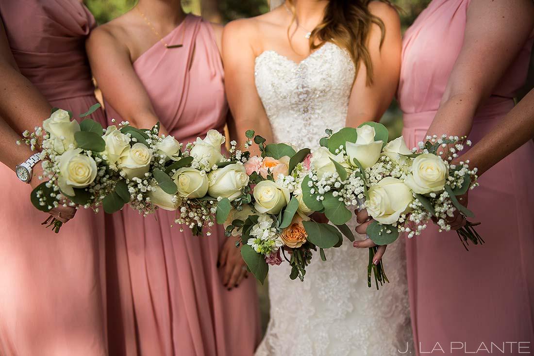J. LaPlante Photo | Boulder Wedding Photographer | Mon Cheri Wedding | Bridesmaids Bouquets