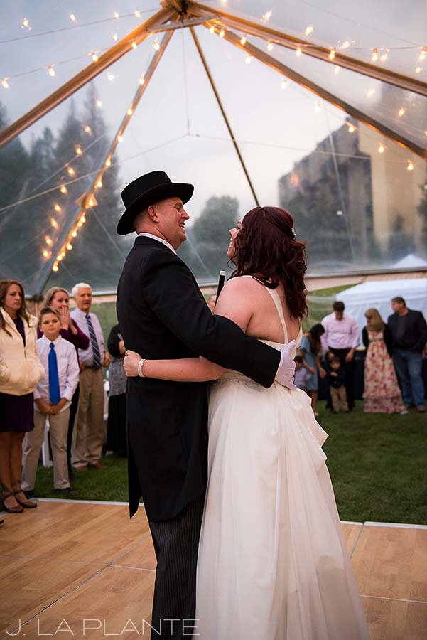 J. La Plante Photo   Vail Wedding Photographers   Lion Square Lodge Wedding   First Dance
