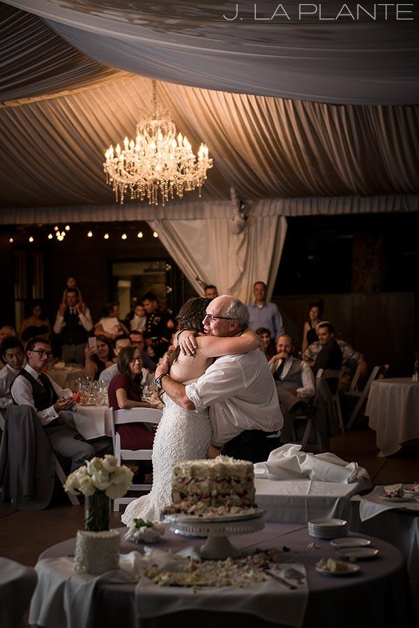 J. La Plante Photo | Boulder Wedding Photographers | Wedgewood on Boulder Creek Wedding | Father Daughter Dance