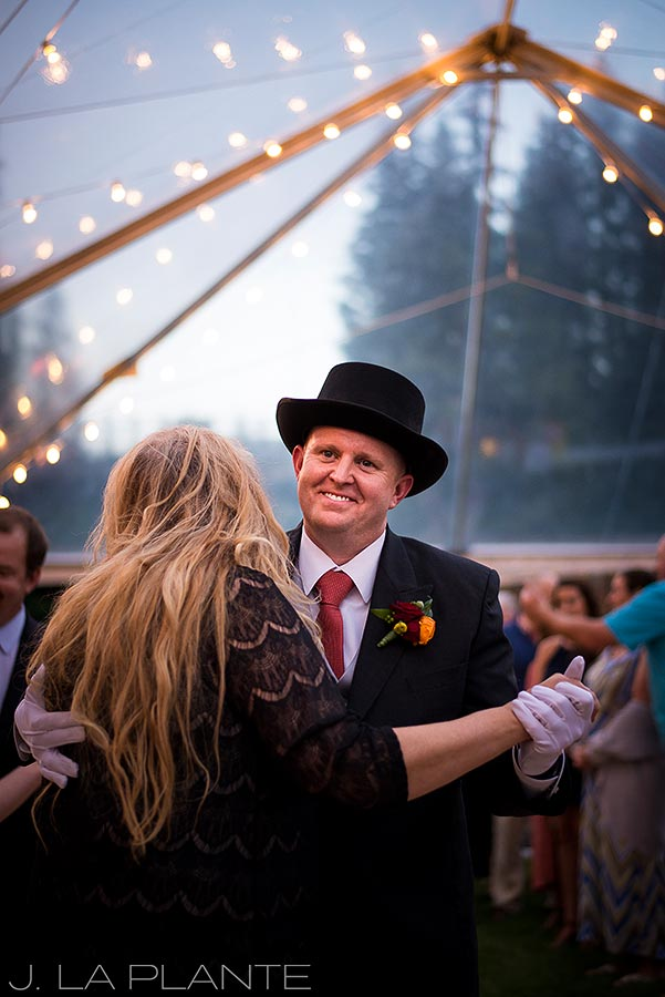 J. La Plante Photo   Vail Wedding Photographers   Lion Square Lodge Wedding   Mother Son Dance