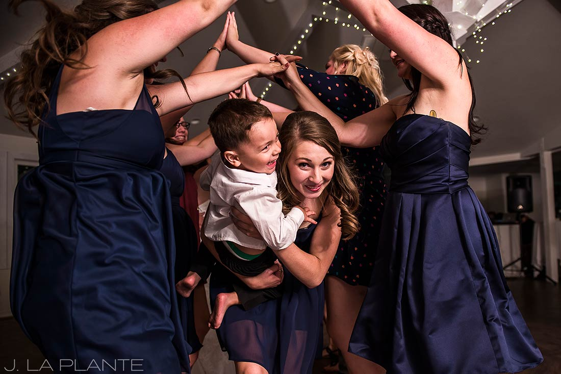 J. La Plante Photo | Boulder Wedding Photographers | Wedgewood on Boulder Creek Wedding | Dance Party Reception