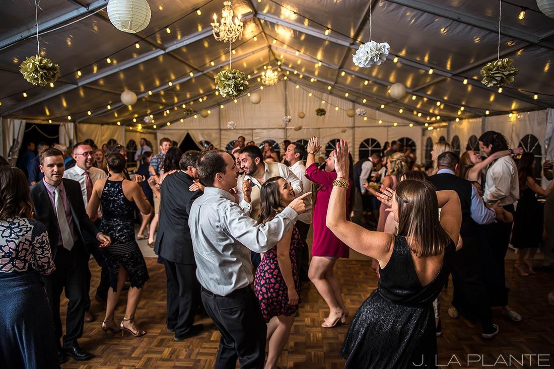 J. LaPlante Photo | Colorado Wedding Photographer | Mon Cheri Wedding | Dance Party Reception