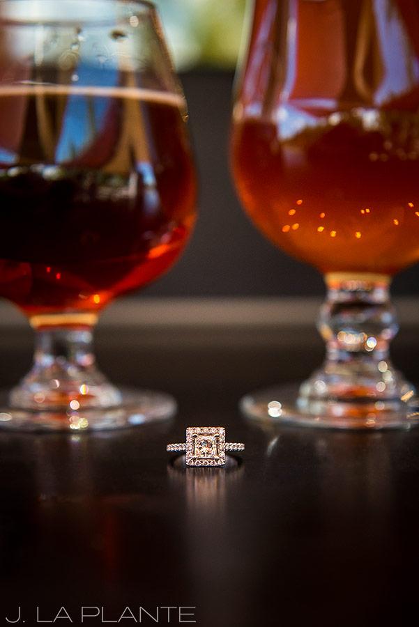 Brewery engagement session | Boulder engagement photographers | Sanitas Brewery engagement | J. La Plante Photo