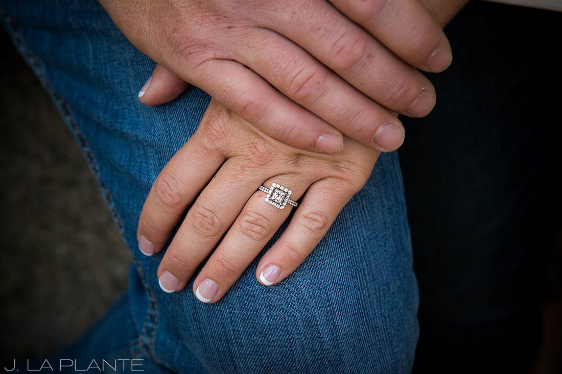 Hiking engagement session | Boulder engagement photographers | Boulder Canyon engagement | J. La Plante Photo