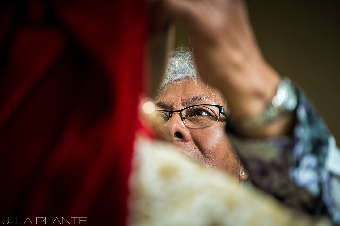 J. LaPlante Photo | Colorado Springs Wedding Photographer | Cheyenne Mountain Resort Wedding | Hindu Wedding Groom Getting Ready
