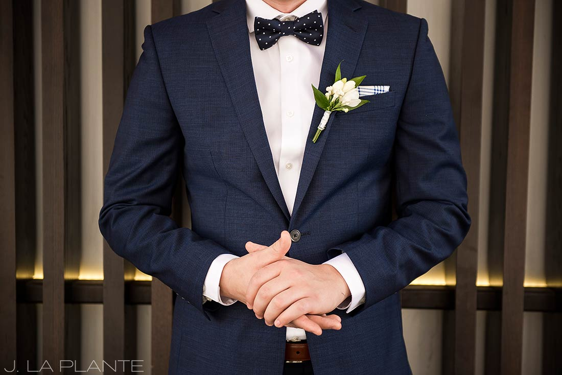 J. La Plante Photo | Denver Wedding Photographer | Grand Hyatt Wedding | Groom's attire