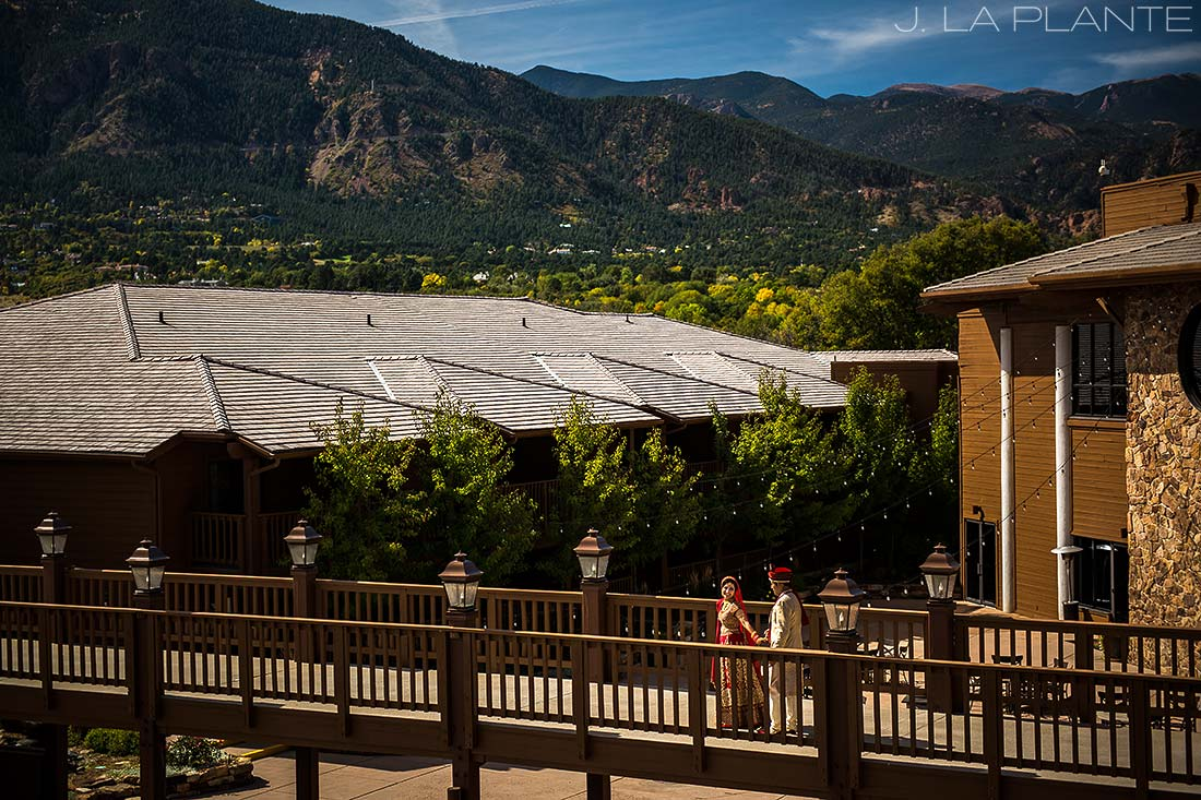 J. LaPlante Photo | Colorado Springs Wedding Photographer | Cheyenne Mountain Resort Wedding | Bride and Groom Portrait