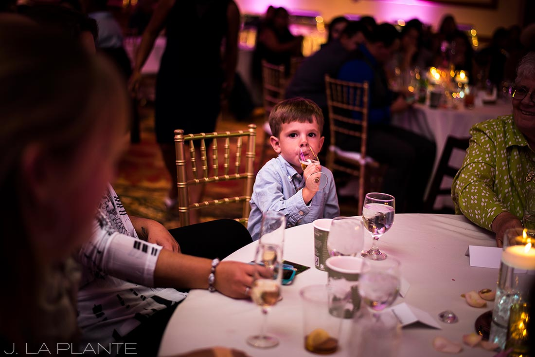 Ring bearer | Hindu wedding in Colorado Springs | Cheyenne Mountain Resort wedding | J. La Plante Photo
