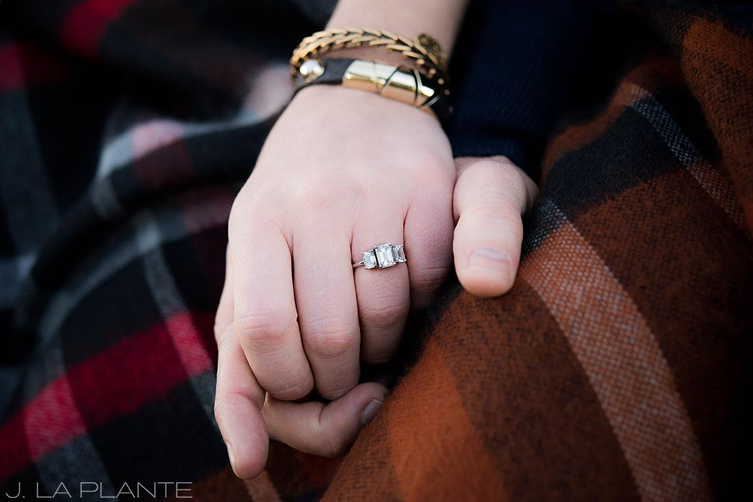 J. La Plante Photo | Denver wedding photographer | Boulder engagement session | Engagement ring