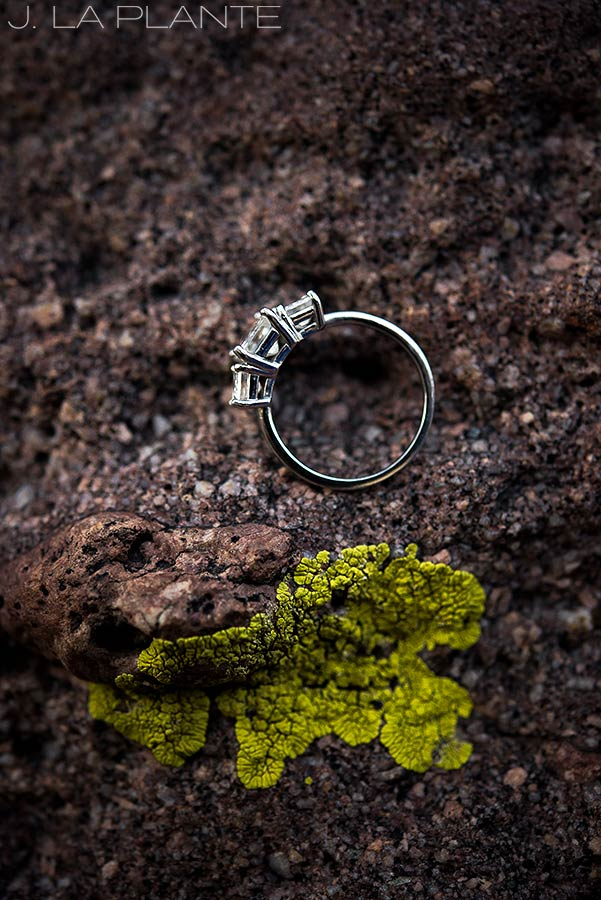 cool photo of wedding rings