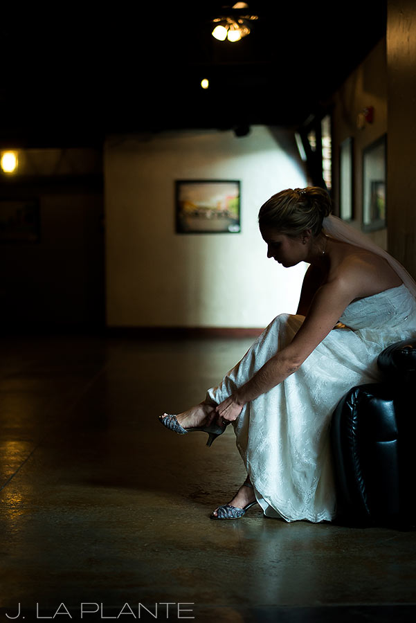 J. La Plante Photo | Denver Wedding Photographers | Mile High Station Wedding | Bride Getting Ready