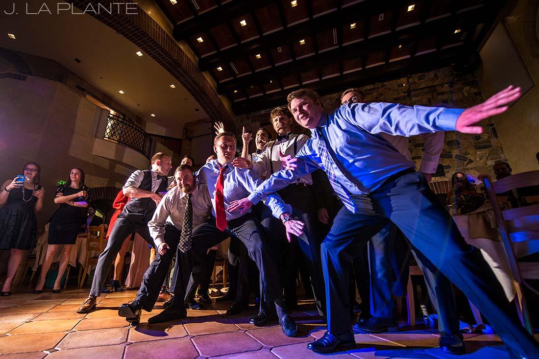 J. La Plante Photo | Denver Wedding Photographers | University of Denver Wedding | Garter Toss