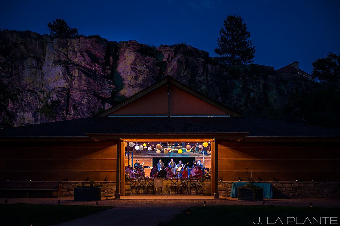 J. La Plante Photo | Boulder Wedding Photographers | Planet Bluegrass Wedding | Wedding Reception Live Band