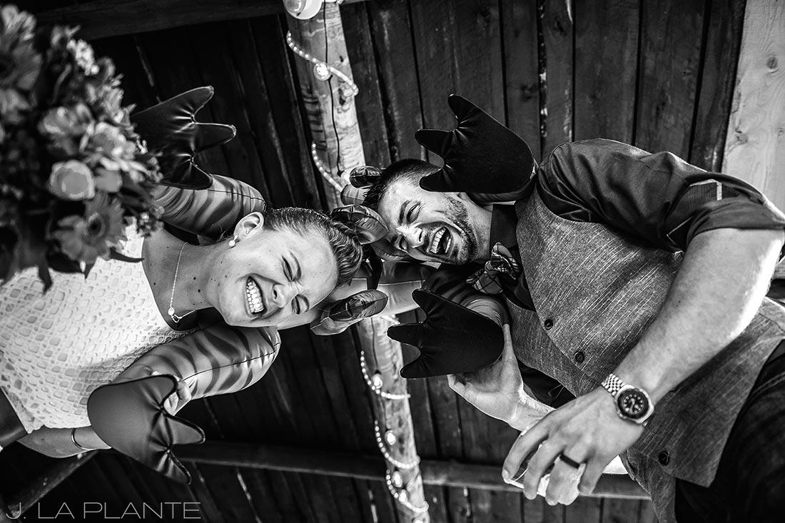 J. La Plante Photo | Colorado Wedding Photographers | Shadow Mountain Ranch Wedding | Dinosaur Themed Wedding