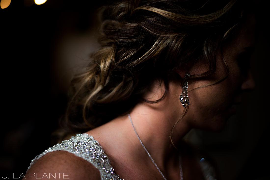 J. LaPlante Photo | Colorado Wedding Photographers | Devil's Thumb Ranch Wedding | Bride Getting Ready