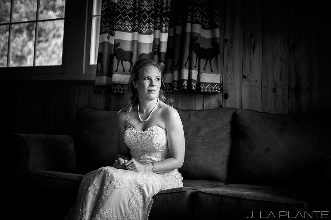 J. LaPlante Photo | Colorado Wedding Photographers | Lower Lake Ranch Wedding | Black and White Photo
