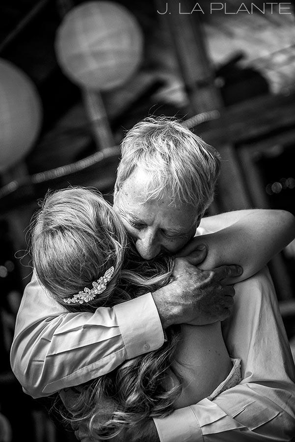 J. LaPlante Photo | Colorado Wedding Photographers | Lower Lake Ranch Wedding | Father Daughter Dance