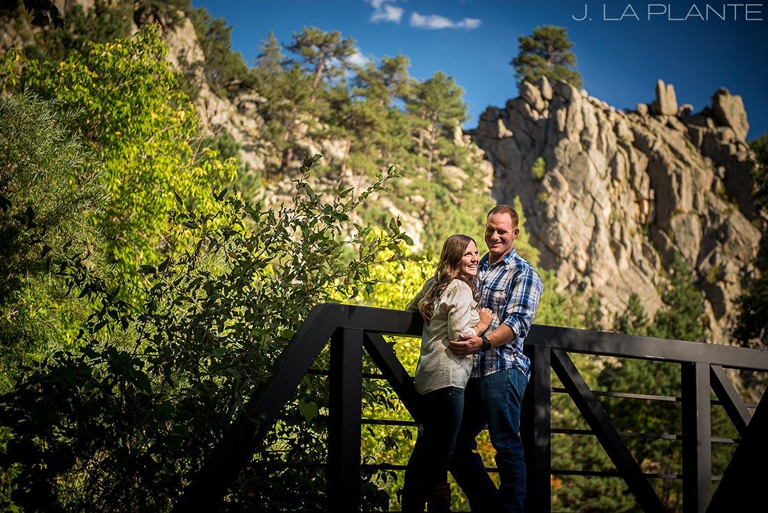 J. LaPlante Photo | Boulder Wedding Photographers | Boulder Canyon Trail Engagement | Fall Engagement Shoot