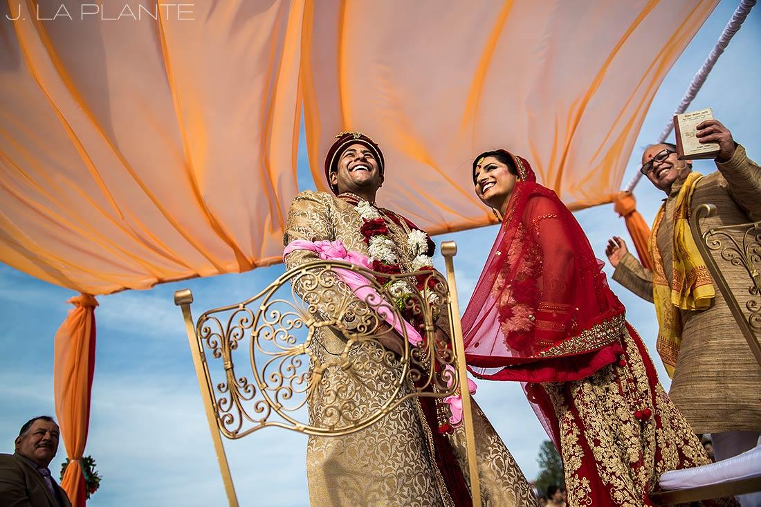 J. LaPlante Photo | Colorado Springs Wedding Photographers | Cheyenne Mountain Resort Wedding | Hindu Wedding Ceremony