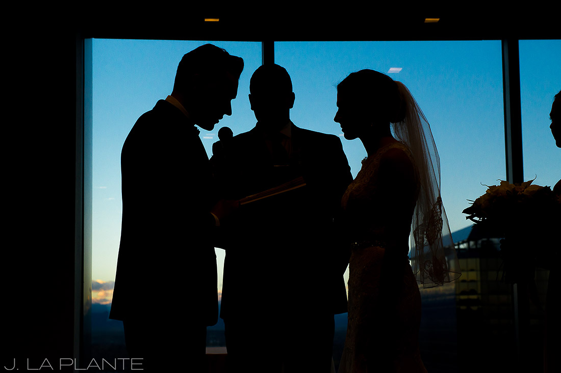 J. LaPlante Photo | Denver Wedding Photographers | Grand Hyatt Denver Wedding | Grand Hyatt Denver Wedding Ceremony