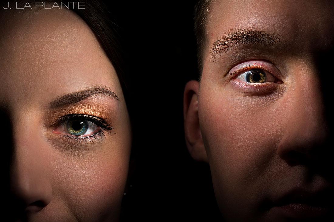 J. LaPlante Photo | Denver Wedding Photographers | Grand Hyatt Denver Wedding | Cool Bride and Groom Portrait