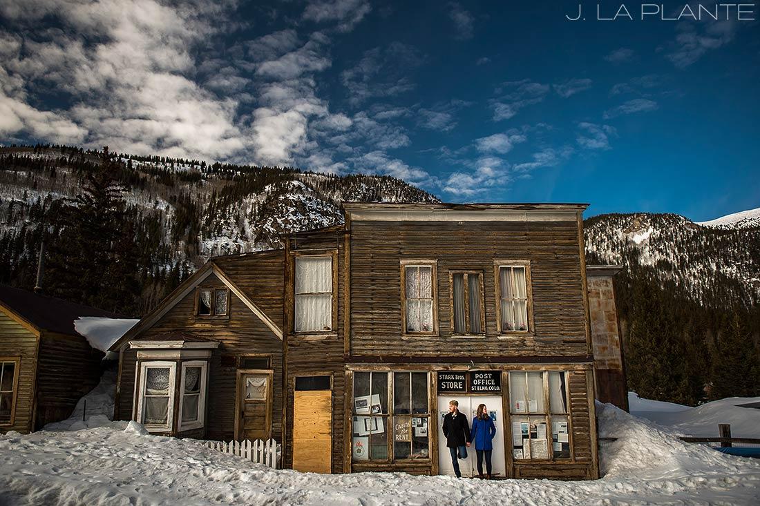J. La Plante Photo   Colorado Wedding Photographer   St Elmo Colorado Engagement   Bride and Groom in Ghost Town