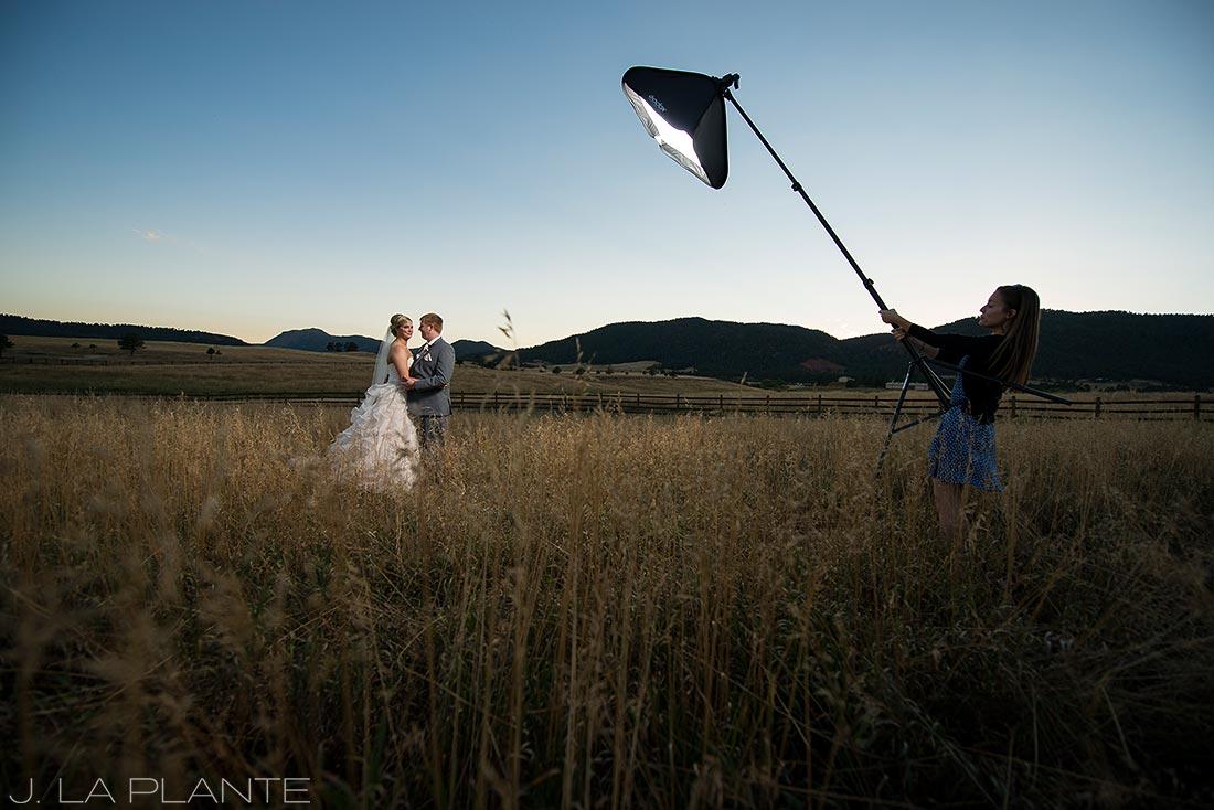 spruce mountain ranch wedding photos
