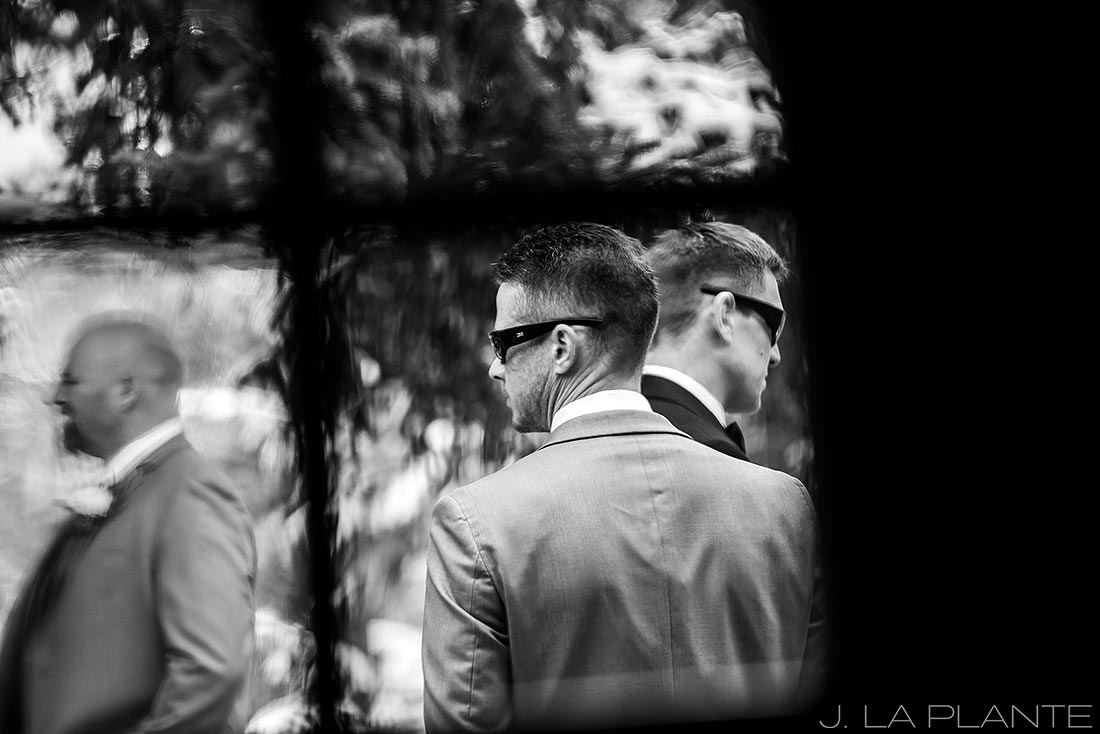 Groom and groomsmen | Chief Hosa Lodge wedding | J. La Plante Photo | Denver Wedding Photographers