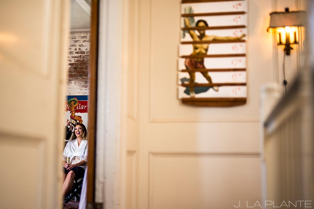 Bride getting ready | Race & Religious Wedding | New Orleans Destination Wedding Photography | J. La Plante Photo
