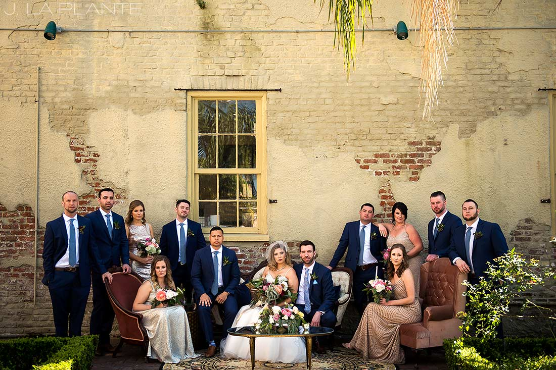 Vanity Fair wedding photo | Race & Religious Wedding | New Orleans Destination Wedding Photography | J. La Plante Photo