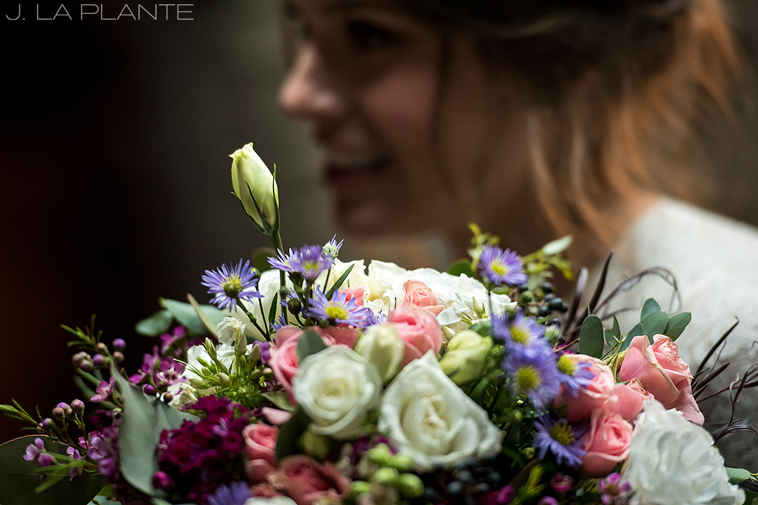 Wedding bouquet | Chief Hosa Lodge wedding | J. La Plante Photo | Denver Wedding Photographers