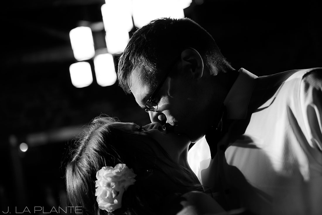 First dance | Chief Hosa Lodge wedding | J. La Plante Photo | Denver Wedding Photographers